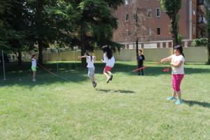 丰富多彩的课间时光---跳绳